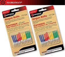 Marksman Airgun Darts .177 Cal. 24 count / TWO dozen Model 1130 4 colors NEW