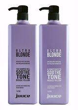 Juuce Ultra Blonde Shampoo and Conditioner 1lt Duo