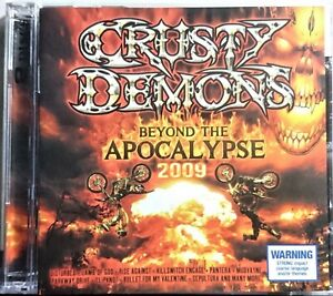 Crusty Demons - Beyond The Apocalypse 2009. CD x 2  Pop Punk, Hard Rock Sony