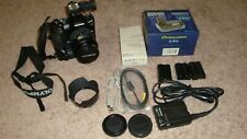 Olympus E-510 IS 10MP Digital SLR Camera w/3 Batteries, Charger, 14-45mm lens et