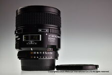 ** Near MINT ** NIKON AF Micro NIKKOR 60mm f/2.8D