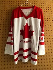Team Canada Hockey Jersey Adult XL Roberto Luongo #1 Free Shipping