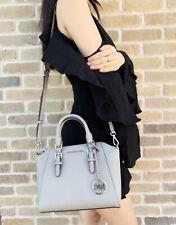 Michael Kors Medium Ciara Messenger Bag Ballet Vanilla Brown Black
