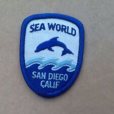 Souvenir cloth Patch, Badge of SEA WORLD, San Diego, California, USA