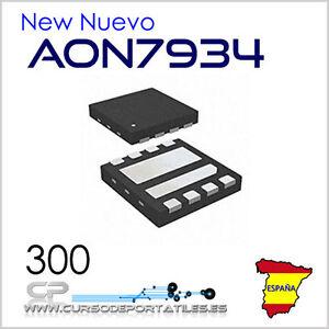 2 Units AON7934 7934 DFN3X3