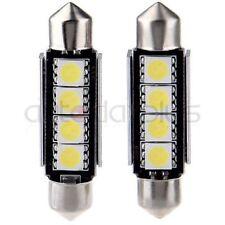 100X White Canbus 5050 SMD LED Festoon 42MM Dome Interior Light Lamp 211-2 212