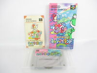 YOSSY ISLAND Yoshi's Ref/ccc Super Famicom Nintendo Free Shipping Japan Game sf