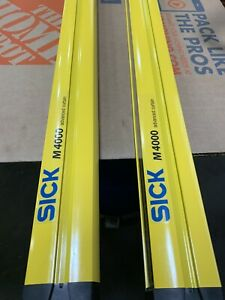 SICK M4000 Safety Sender-Receiver pair  M40S-66A303AA0+ M40E-66A323RBO Curtain