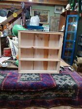 Pine and aluminium framed small shelves FREE P&P