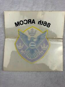 "86th ARCOM Reverse Decal/Sticker 4"" x 4"""