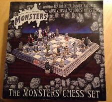 Universal Studios Monsters Chess Set
