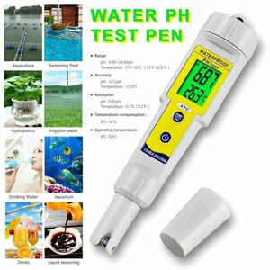 Auto Calibration Digital PH Meter Tester Pen for Aquarium Pool Hydroponic Tool