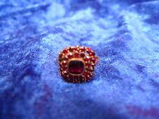 schöner ,alter Ring__mit Granatbesatz__vergoldet___!