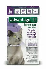 Advantage II for Cats Over 9 lbs. 2 pack (2 Doses)