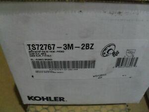 KOHLER K-TS72767-3M-2BZ  Artifacts Prong Transfer Valve Trim Oil Rubbed Bronze