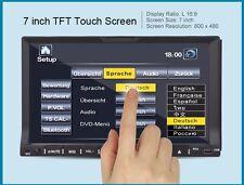 "7"" Double 2 Din Car DVD Player Radio Stereo GPS SAT NAV Bluetooth+Camera+8GB Map"
