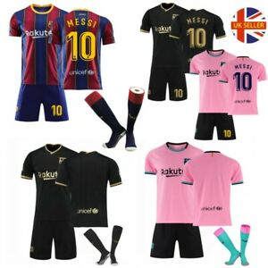 20/21 Football Club Kits Kids Junior Adults Soccer Jersey Training Suits + Socks