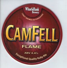 WHARFE BANK BREWERY (POOL IN WHARFEDALE) - CAMFELL FLAME - PUMP CLIP FRONT