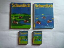 Hans Ritte - Schwedisch Lehrbuch Sprachkurs 2 Bücher & MC