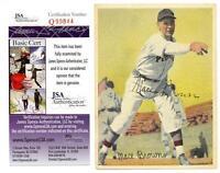 1936 Goudey R312 MACE BROWN Pastel Premium Card Autographed Signed JSA COA