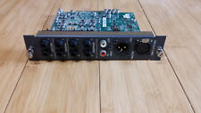 mackie digital x bus  MIX OUT CARD-AES/EBU,S/PDIF stereo I/O,stereo monitor+more