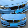 M3 Emblem Front Grill Badge Logo for BMW E46 E90 E91 E92 E93 F30 F80 M3