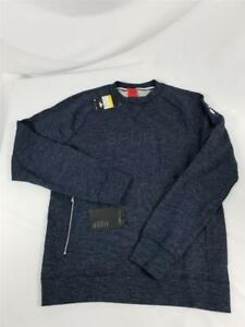NWT Nike Mens Small Pullover Crew Sweatshirt Tottenham Hotspur Spurs Soccer Blue