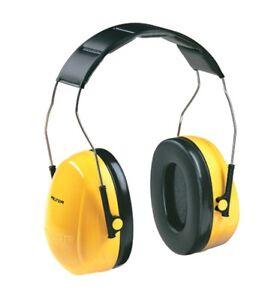 3M PELTOR OPTIME 98 EARMUFFS NOISE REDUCTION OF 25DB 3M08091