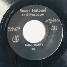 Private Press Gospel Vocal Group 45 SONNY HOLLAND & FREEDOM Sanctuary SOUND rare