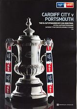 F A CUP FINAL 2008 CARDIFF v PORTSMOUTH MINT PROGRAMME