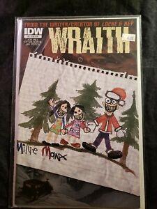 "Comic Lot (4) ""WRAITH"" ~IDW~ #'s 3,5,7,7 // VARIANTS // NEAR MINT // UNREAD"