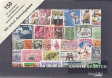 all World 150 different stamps out different collection areas
