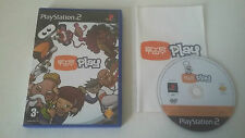 EYE TOY PLAY - SONY PLAYSTATION 2 - JEU PS2 COMPLET