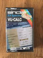 Sinclair ZX Spectrum Vu Calc By Psion Software