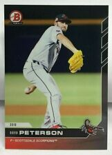 David Peterson 2019 Bowman Next Baseball #AFL-43 Scottsdale Scorpions - SP /261