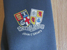 Land's End to John O'Groats Traversal Great Britain Tie