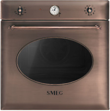 SMEG SF855RA  Thermoventilierter Ofen, 60 cm, Kupfer, Kolonialästhetik. klasse A