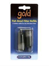 Interpet Goldfish Bowl Carbon Filter Refills  Pack Of 2