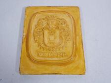 Wappen Gussform Walter Familienwappen alte Form Gipsform
