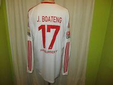 "Hamburger SV Adidas Langarm Trikot 09/10 ""Fly Emirates"" + Nr.17 J.Boateng Gr.XL"