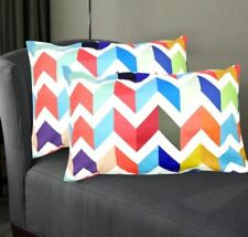 Set of 2 Perfect Cotton Bedding Pillow Case Cool Aztec Pattern