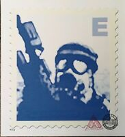 James Cauty 035-B Father's Day Blue enhanced Giclee numbered 5/113 original SMD.