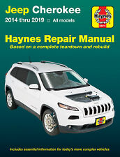 2014-2019 Jeep Cherokee Haynes Repair Service Workshop Shop Manual Book 23653