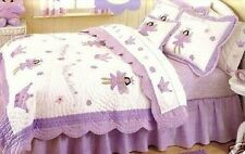 That's Mine FAIRY PRINCESS Purple 4 Pc Twin Bedding Childrens Girls Crown Wand