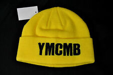NEW YMCMB YOUNG MONEY men/women casual BEANIE hat YELLOW/BLACK *ONE SIZE
