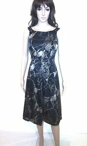 MONSOON Evening Dress. Cocktail Party Etc. Gorgeous Silk Blend.  Lined  SIZE 10