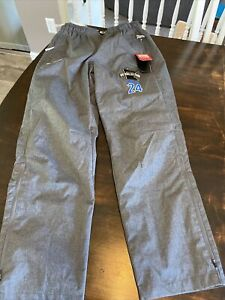 CCM Ice Hockey Team Issue Gray Lightweight Warm Up Pant Rink Suit size M
