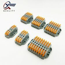 1Pcs Wire Connector 2/3/4/5/6/8 pin Equipment Electrical Block Terminal push-in