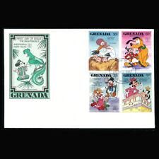 Grenada, FDC, 1987, Disney, Andersen's Fairy Tales, G154-2-A