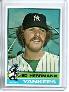 1976 TOPPS ED HERRMANN (NM/MT)